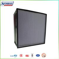 Buy cheap Ventilation System Air Conditioning Air Filter for Food Industry Clean Workshop from wholesalers