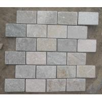 Wholesale Oyster Slate Stone Mosaic Natural Stone Mosaic Wall Tiles Oyster Mosaic Floor Tiles from china suppliers