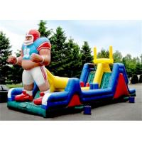 Wholesale Durable Inflatable Obstacle Course , Inflatable Outdoor Obstacle Course With CE from china suppliers