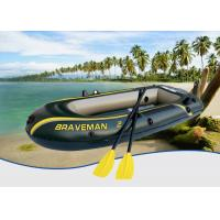 Wholesale Dark Green Braveman Durable Inflatable Boat , Convenient Lightweight Inflatable Boat from china suppliers