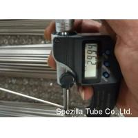 Quality 316L Round Welded Stainless Steel Tube / Automatic Tubing 180 Grit Polished for sale