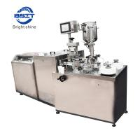 Buy cheap ZS-1 PVC/PE pharmaceutical suppository forming, filing and sealing machinery from wholesalers