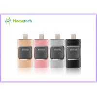 Wholesale Mobile Phone USB Flash Drive For IOS / Android , I- Easy Drive With Aluminum Alloy Material from china suppliers