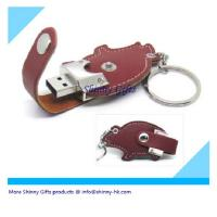 Wholesale Lovely mouse shape leather usb driver  from china suppliers