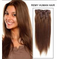 Wholesale 100% remy Unprocessed Full Head curly human hair extensions For White Women from china suppliers