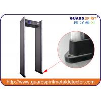 Wholesale High Sensitivity Walk Through Multi Zone Metal Detector Gate LED Light Alarm from china suppliers