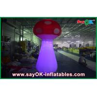 China Cute Inflatable Easter Decorations Mushroom With Ground Blower on sale