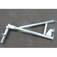 Wholesale 0.72m 7.4kg hot galvanized haki scaffold  bracket from china suppliers