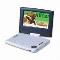 Wholesale 7-inch Portable DVD Player with 16:9 or 4:3 Aspect Ratio and Parental Lock Function from china suppliers