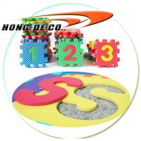 Wholesale Non-toxic , Environmental Puzzle mat for Children use with Alphabet , Number from china suppliers