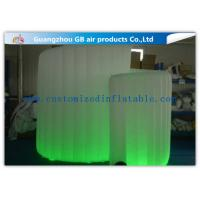Wholesale OEM Available Led Inflatable Photo Booth , Foldable Inflatable Spiral Photo Booth from china suppliers