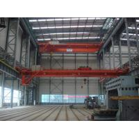 Wholesale Cabin / Remote Control 100 Ton QD Type Double Girder Overhead Crane from china suppliers