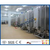 Wholesale 2TPH 5TPH Energy Drink Beverage Production Line With Beverage Filling Equipment from china suppliers
