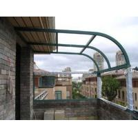 Wholesale Low E Building Curved Tempered Glass For Balustrades , High Mechanical Resistant Strengthen from china suppliers