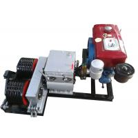 Wholesale Cable Winch Puller 5 Ton Diesel Engine Powered Double Drum Winch from china suppliers