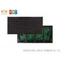 Wholesale P10 Led Moving Message Display SMD3535 Traffic Car Sign Board , 1/4 Scanning from china suppliers