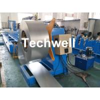 Wholesale Hydraulic Or Automatic Decoiler Machine With Automatically Uncoiling , Hydraulic Expanding , Tension from china suppliers