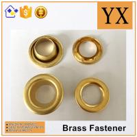 Wholesale China factory price Oval Brass Eyelets and Grommets High Quality Brass Eyelets for tent from china suppliers