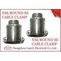 "Wholesale Aluminum 1/2"" 3/4"" NM Round SE Cable Clamp For Bond the Wire to Outlet Box from china suppliers"