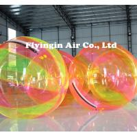 Wholesale Water Game Multicolor TPU Inflatable Water Walking Ball for Sale from china suppliers