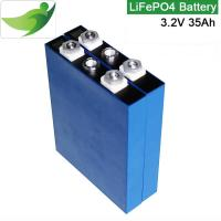 Wholesale Long cycle life rechargeable lithium ion battery to storage solar energy 3.2V35Ah from china suppliers