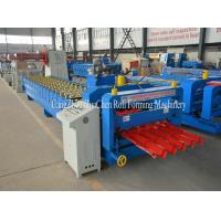 Wholesale Galvanized Steel Sheet Roofing Glazed Tile Roll Forming Equipment Special Cutting from china suppliers