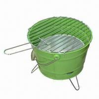 Wholesale Charcoal Barbecue Grill with 0.7mm Steel Plate Thickness, Measures Ø35.5cm from china suppliers