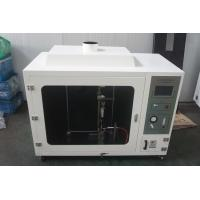 Buy cheap Numerical Controlled Ul 94 Horizontal Flammability Tester With Automatic Ignition from wholesalers