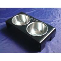Wholesale Rectangle 8mm Ruby Acrylic Pet Bowl Food Feeder For Dog , Cat OEM from china suppliers