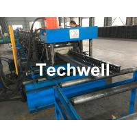 Wholesale GCr Quench Treatment Roller Cable Tray Roll Forming Machine With Punching Press Machine from china suppliers