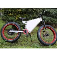Wholesale 48V 1000W Long Range Fat Tire Storm Electric Mountain Bikes 30 - 50km/h Speed from china suppliers