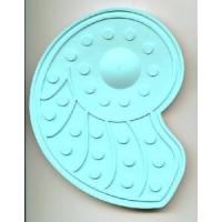 Wholesale 3 Silicone TPR Rubber Temperature Change Color Mat / Shower Bath Mat (HC35) from china suppliers