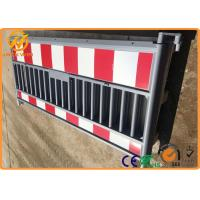 Wholesale European Standard Road Safety 2000mm Plastic Traffic Barrier / Plastic Safety Barricade from china suppliers