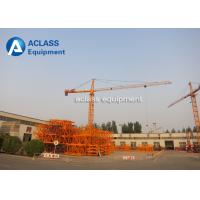Quality Inverter 12 Ton Construction Tower Crane Self - erecting Hammer Head for sale