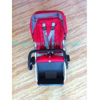 Wholesale ABS Environment Red Mobile Baby Seat For Baby Stroller Bike from china suppliers