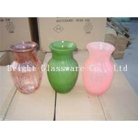 Wholesale Custom beautiful design glass vase for wholesale from china suppliers
