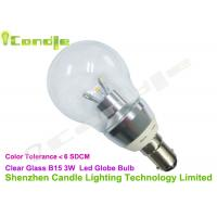 Wholesale High Lumen 220v Clear Glass 360 Led Household Bulbs B15 With Low Voltage Driver from china suppliers
