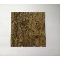 Wholesale First-layer Nature Cork Bark tiles,for wall,ceiling decoration from china suppliers