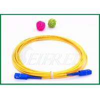 Wholesale SC/UPC to SC/UPC connecoter Fiber Optic Patch Cord Single Mode G657A Simplex from china suppliers