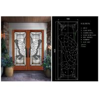 Wholesale Privacy Glass Slider DoorsFor Home Decor IGCC IGMA Certification from china suppliers