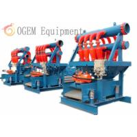 Buy cheap Hydrocyclone Desilter Drilling Fluid Solids Control Service from wholesalers