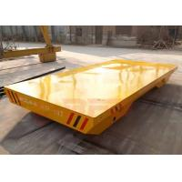 Wholesale 10t Non-power towed transfer car for wooden box handling apply from china suppliers