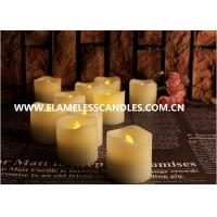 Wholesale Moving Flame Flickering Flameless LED Votive Candles for Home Decor / Wedding Gift from china suppliers