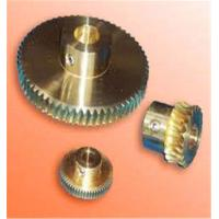 Wholesale Hand Screw Worm Aluminum DC Motor Worm Gear CNC Machining Part from china suppliers