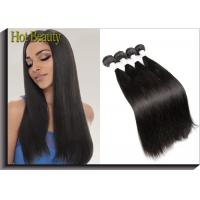 Wholesale Peruvian Remy Virgin Human Hair Extensions , Silky Straight Wave from china suppliers