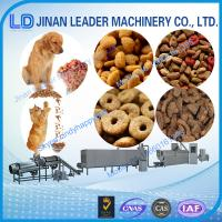 Wholesale 100-150kg per hour floating fish feed extruder processing pet food production line from china suppliers