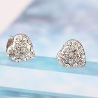 Wholesale Ref No.: 440217 Elegant Heart Earring moti jewellery online designing jewelry from china suppliers