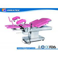 Buy cheap Adjustable Medical Surgery Obstetric Labour Table , Manual Hydraulic Operating Table from wholesalers