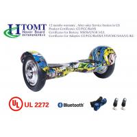 Wholesale China factory wholesale smart balance 2 wheel hoverboard with bluetooth graffiti yellow from china suppliers