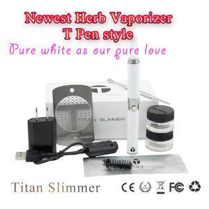 Wholesale high quality huge vapor many color titan slimmer 650mah original e cigarette starter kit from china suppliers